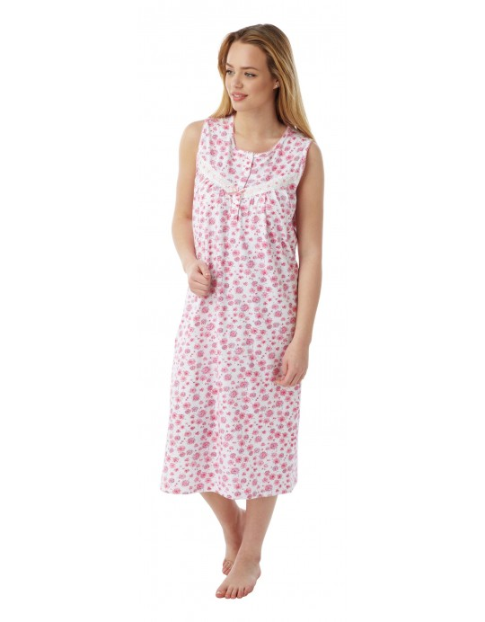 Ladies 100% cotton Dandelion BUS N/dress Ma07663